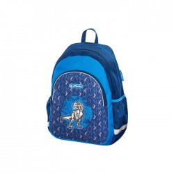 Backpack Blue Dino